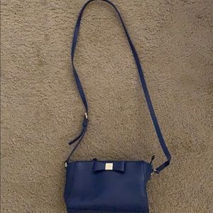 Royal blue kate spade purse